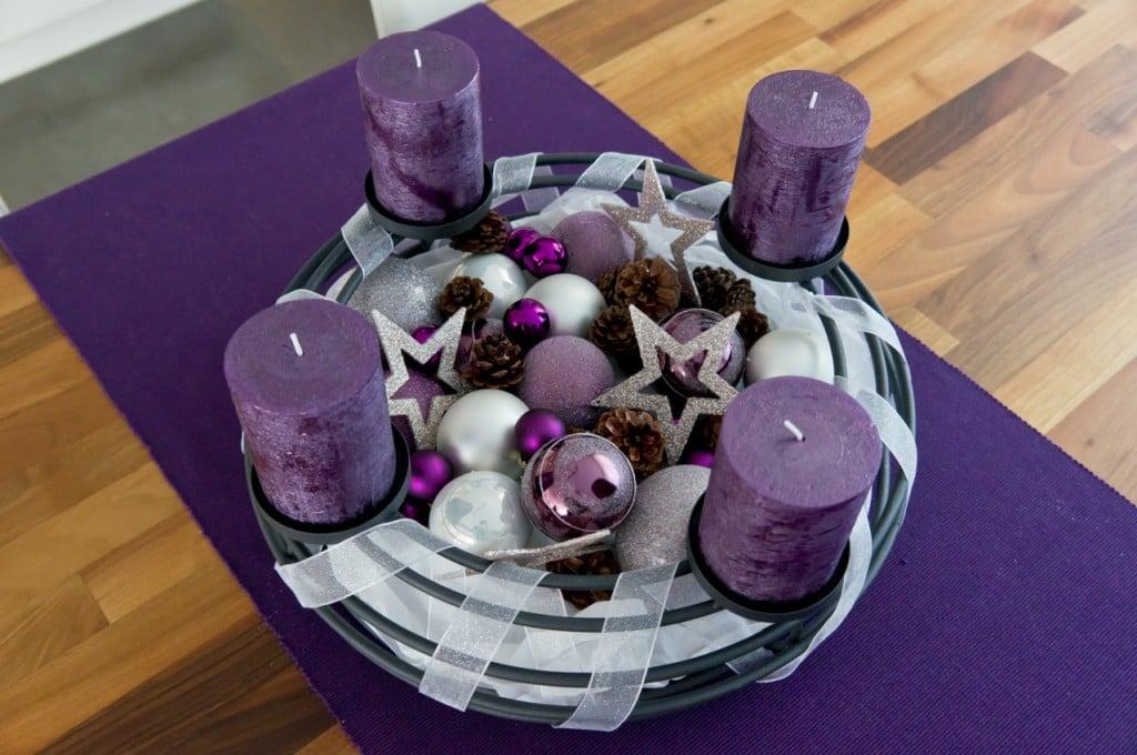 adventskranz lifestyle travel food blog aus der. Black Bedroom Furniture Sets. Home Design Ideas