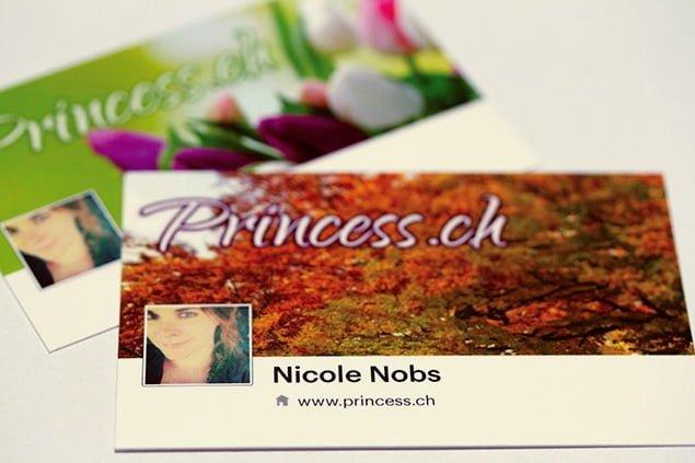 Gratis Visitenkarten Von Moo Com Für Facebook Nutzer Reise
