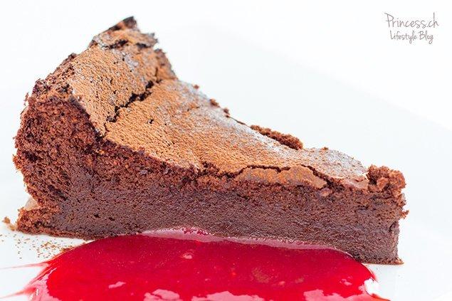 Gateau Victoire Oder Schokoladen Truffe Cake Mit Whiskey Lifestyle