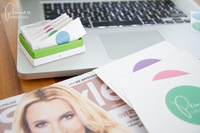 Princess Mit Neuem Logo Und Visitenkarten Von Moo Com