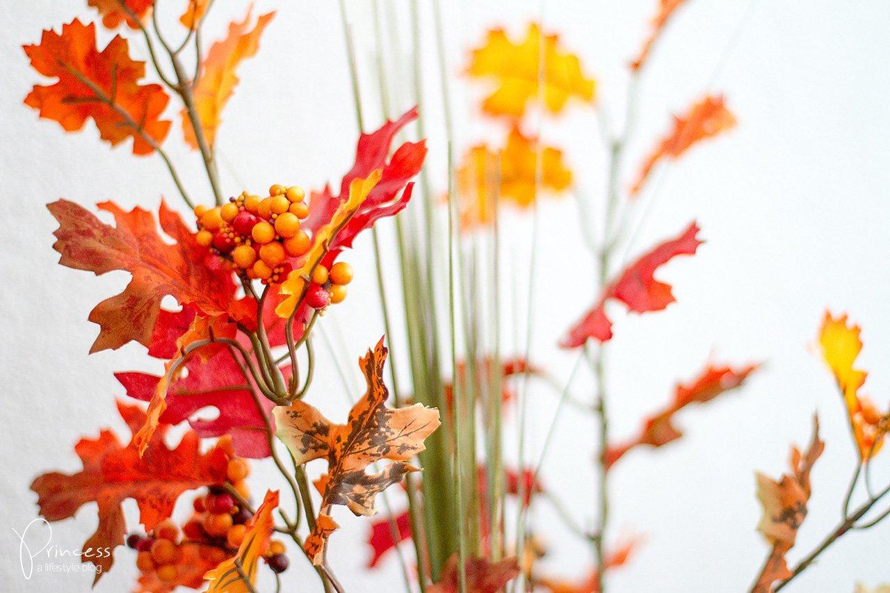 Herbst Deko von DEPOT und Kürbis Flan Rezept  Lifestyle