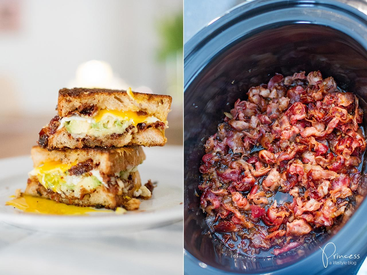 Bacon Jam and Avocado Grilled Cheese Sandwich | Lifestyle, Travel ...